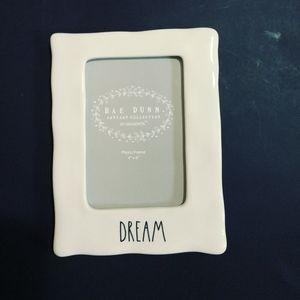 """Rae dunn """"DREAM"""" picture frame"""